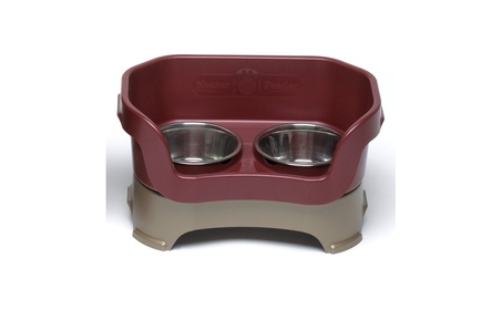 Neater Pet Brands - Neater Feeder Large Dog- Cranberry Large Dog - 100 b8d4b485-2fcd-4576-8a94-ff271488cb98