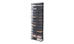 Simplify 26-Shelf Over-the-Door Shoe Rack