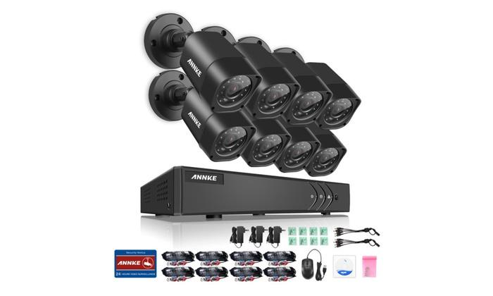 Refurbished ANNKE 8CH 720P HD Home Surveillance System