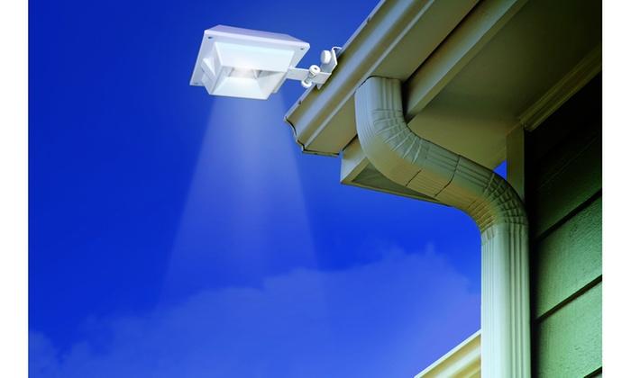 2 Pack Triple Mount Solar Gutter Lights Livingsocial