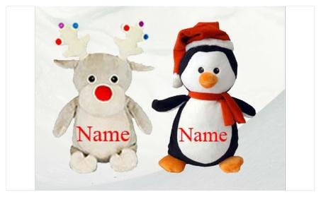 Christmas Lil' Cub Hub Personalized Cubbie Stuffed Animal b7cefd01-314c-4cb4-8449-912240e1679b