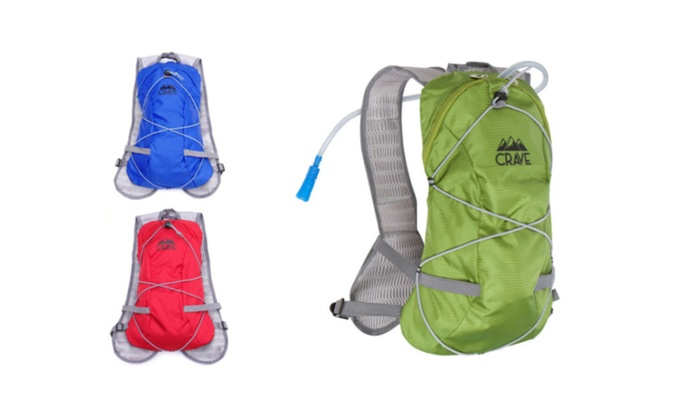 New 2017 Crave Hydration Backpack Water Bladder Cycling Running Pack