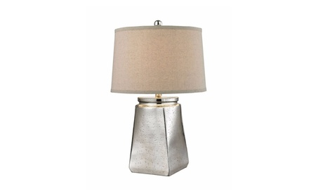 Dimond Lighting Tapered Square Table Lamp in Silver Mercury f63302cf-8c16-4d3b-a662-a104ffdde48d