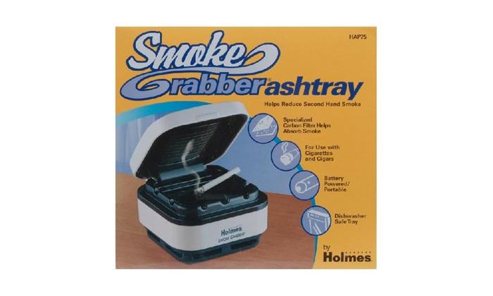 Holmes Hap75-uc2 Smokeless Ashtray, Off White