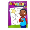 Coloring Colors & Shapes Book