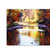 David Lloyd Glover Reflections of August Canvas Print