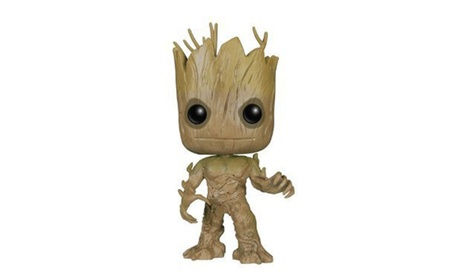 Funko POP Movies: Guardians of the Galaxy 2 Toddler Groot Toy Figure 9849472f-ddf5-41db-bae8-3b84b5af9fd4