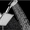"HotelSpa 10.5"" Square Rain Shower Head and Handheld Combo"