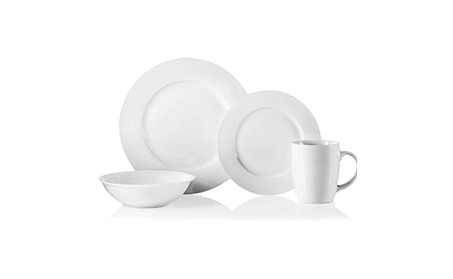 Robinson Home Products D137916 16 Pieces Naturally White Dinnerware 63ea443e-4f03-4a4d-ad44-9f177df30bf5