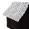 New Roof Soft Dog Cat House Pet Super Soft British Style Pet House