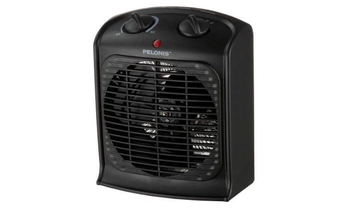 Pelonis portable fan heater groupon for Pelonis heater