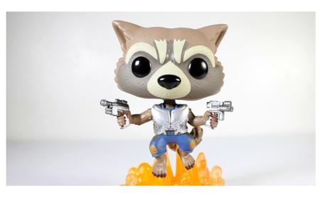 Funko Pop! Guardians of the Galaxy Flying Rocket Bobble Head d5e8a1a2-78e6-4da6-adb0-193e3b261961