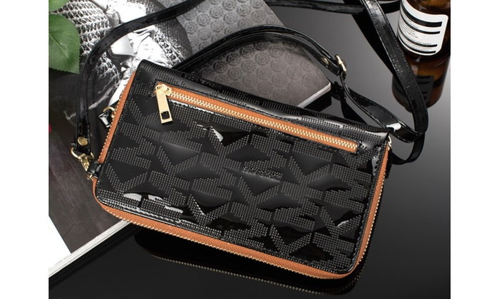 db65da7b9435 Up To 62% Off on Michael Kors Leather Crossbody