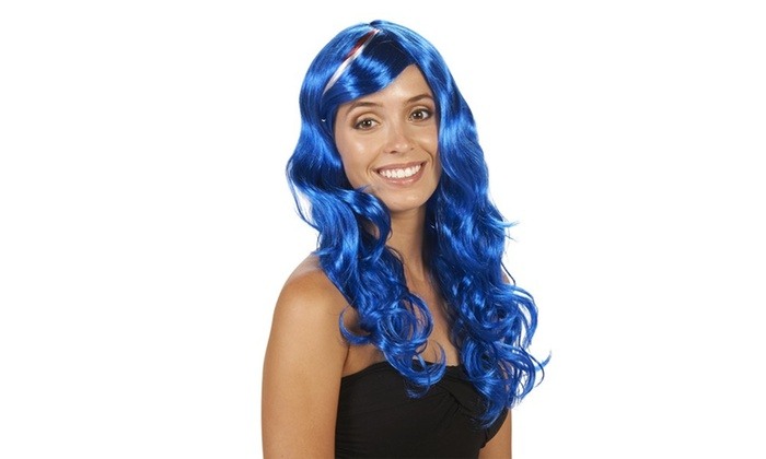 Murica Curly Adult Wig
