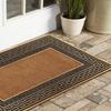 """Golden Trim AstroTurf Scraper 18""""x30"""" Rubber Doormat"""