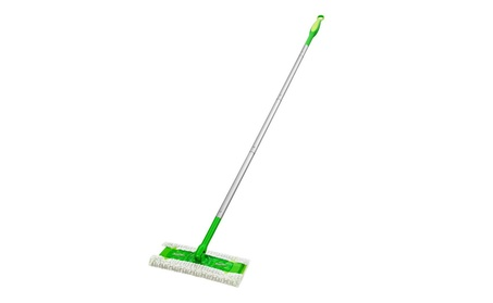 "Swiffer 09060EA Sweeper Mop- 10"" Wide Mop- Green daa26723-11a4-4512-b000-8861d278b425"