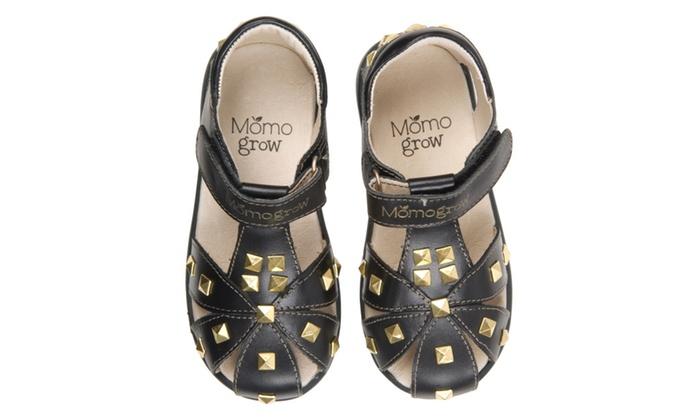 ec9063c2b Girls Studded Leather Sandal Shoes