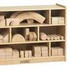 ECR4Kids Wooden Block Storage Cabinet - Medium