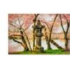 Lois Bryan 'Japanese Stone Lantern' Canvas Art