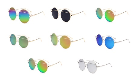 Metal Sunglasses Ladies Glasses eba05538-931b-4a45-845f-39655043b5be