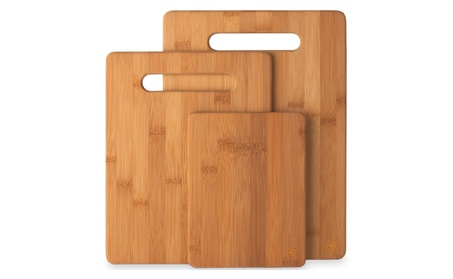 Bamboo Cutting Board 3-Piece Set of 100% Natural Bamboo Cutting Boards d5e749d6-adb1-4d8c-b269-bc7f7c092d55
