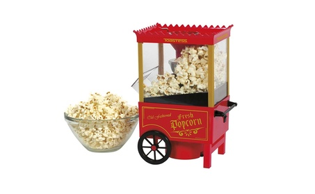 Nostalgia OFP501 Old Fashioned Popcorn Popper - Red photo