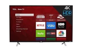 TCL 55-Inch 4K Ultra HD Roku Smart LED TV (2017 Model)