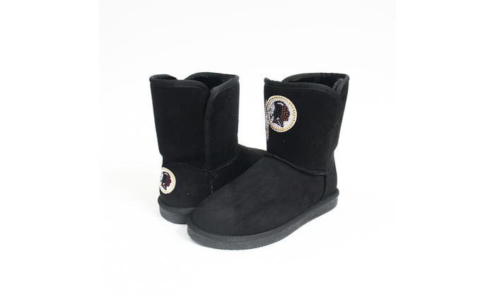 2d0921304 ... Cuce Shoes NFL Washington Redskins Team Colored Boots ...