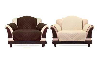 Shop Groupon Reversible Sofa Cover   Sofa Slipcover   Stylish Furniture  Protector
