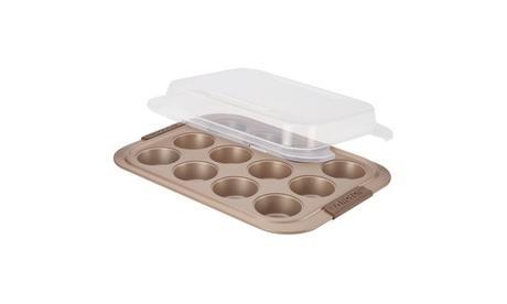 Anolon Advanced Bronze Nonstick Bakeware 12-Cup Muffin Pan 218fcb4c-2c22-4cbd-a244-482755c60e77