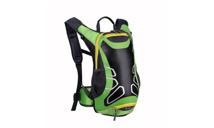 Waterproof Nylon Cycling Bag Bike Sport Running Backpack