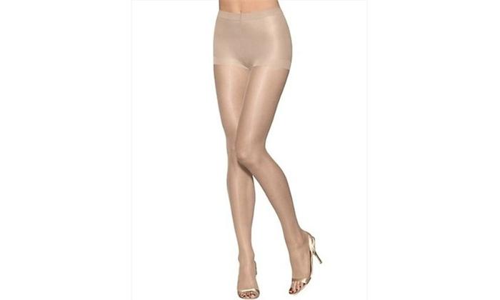 4ccfe607f Hanes 0B376 Womens Silk Reflections Ultra Sheer Toeless Control Top ...