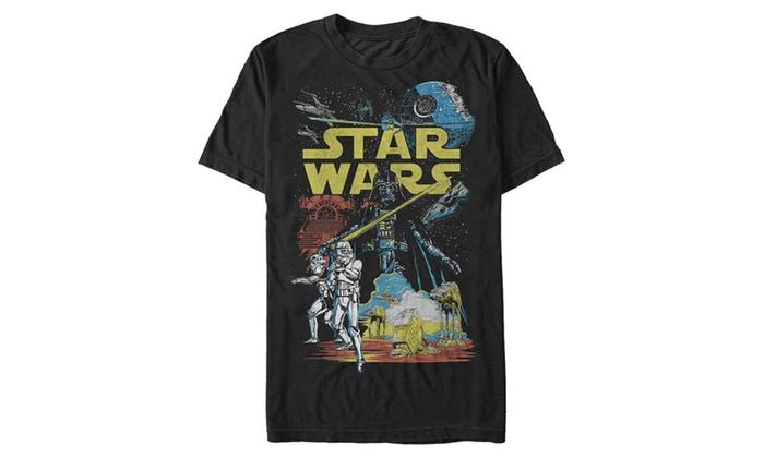 413a50ea4 Star Wars Men's Rebel Classic Graphic T-Shirt | Groupon