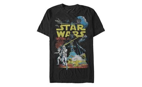 Star Wars Men's Rebel Classic Graphic T-Shirt 6a4edb64-a5b4-435a-8d7b-0d07e5e56236