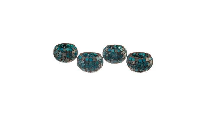 Groupon Goods: Blue Moon Glass Ball Votive, Small (Each Piece)