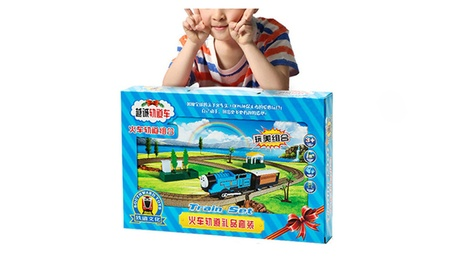 Kids Gift Cartoon Figure Tomas And Friends Train Set Railway Model Toy 89b5ae7a-d616-498d-9561-6ed999969f33