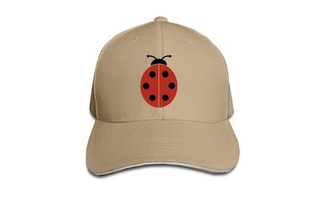 Ladybug Ladybirds Stylish Flat Bill Hats 4692d9af-eecd-48ba-b4b5-34d57e40c0cb
