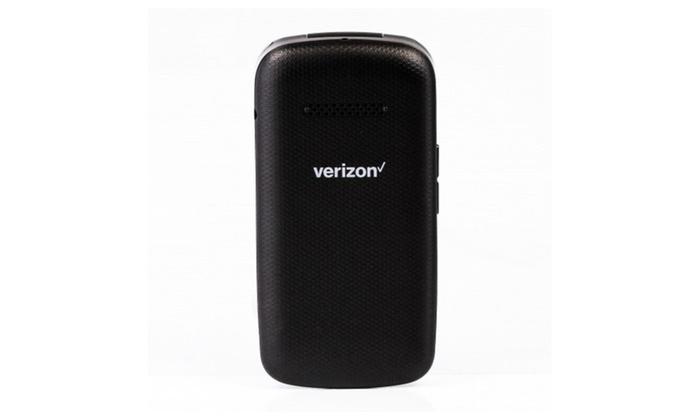 ZTE Cymbal 4g LTE Prepaid Flip Phone Verizon Wireless (used