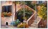 Summer Terrace - Landscape Canvas Art Print