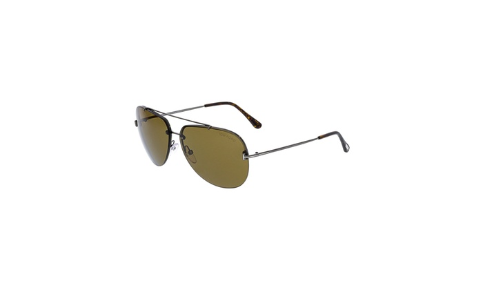 8f9061aab2 Up To 53% Off on Tom Ford Men s Aviator Sungla...