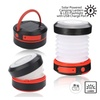 Solar Powered Collapsible LED Lantern & Flashlight + USB Charge Port
