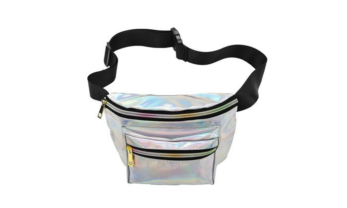 147e42e8de39 Up To 84% Off on Holographic Fanny Pack Waterp... | Groupon Goods