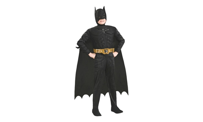 Rubies Costume Co 32965 Batman Muscle Chest Batman Child Costume  sc 1 st  Groupon & Rubies Costume Co 32965 Batman Muscle Chest Batman Child Costume ...