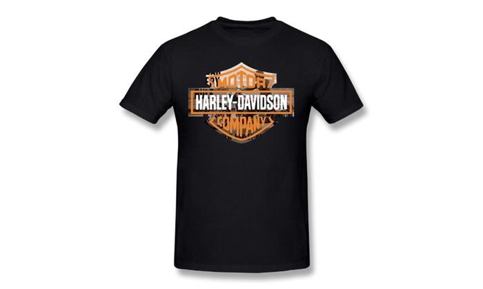 2d701d9b Harley-davidson Mens Willie G Skull T-shirt Black   Groupon
