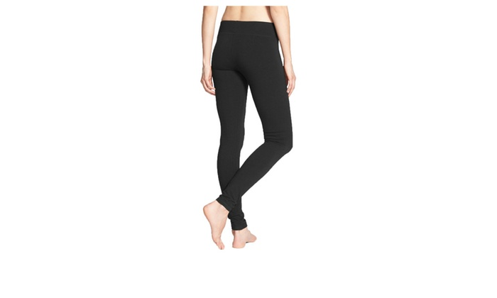 Women's Solid Plain Cotton Leggings 190 Gsm Fabric - 2 Pack