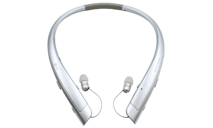 a71a53aeeb6 Refurbished LG Tone Platinum HBS-1100 Wireless Bluetooth Headset Harman  Kardon Black