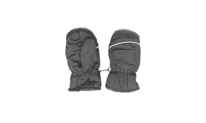 Toddler Girls /& Boys Black Thinsulate Snow /& Ski Mittens