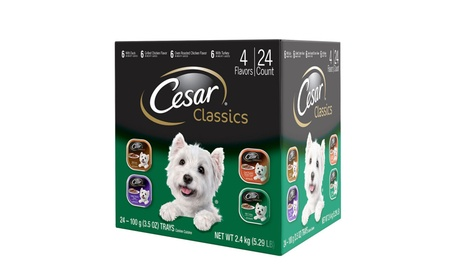 Cesar Classics Poultry Flavored Adult Wet Dog Food Trays 0d1de650-d969-433d-a5e6-d7a464354c73