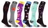 XTF Medical Prints Nurses Inspired Knee-High Compression Socks (3-Pairs)