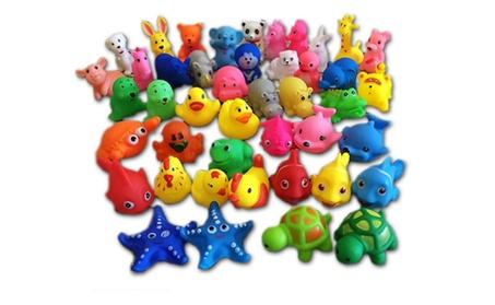 13Pcs Colorful Soft Rubber Float Squeeze Sound Bathing Toy For Baby adcc400b-ae52-4d9b-b437-c962a5a73be9